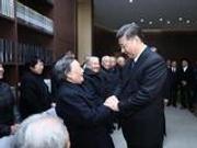 习近平会见南京大屠杀幸存者代表:走好未来的路