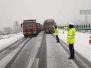 甘肃受降雪影响多条高速已实施管制或限行