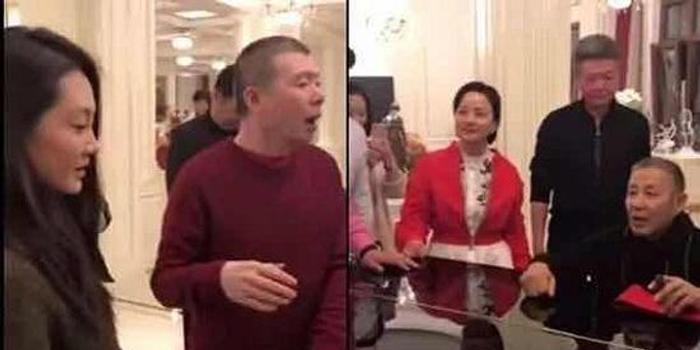 冯小刚让女演员跳舞:男人背后饭局油腻的视频田佳鑫权力图片