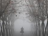 上海大雾弥漫 部分地区出现能见度小于200米的强浓雾
