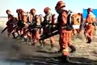 森林消防60人前往火场 设隔离带4公里