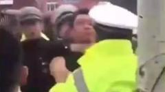 究竟怎么回事?呼和浩特城管和交警竟打起群架?