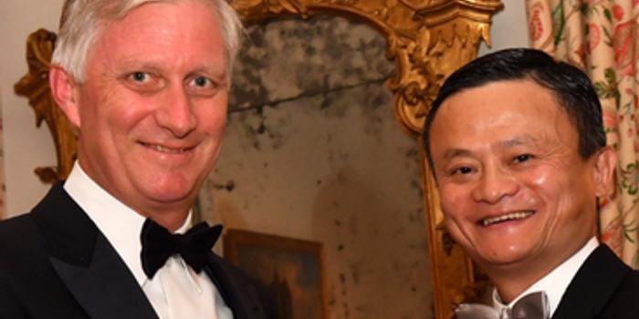比利時國王為馬云授皇冠勛章:為唯一獲勛章的中國人