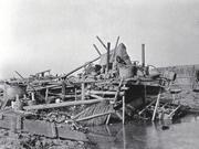 1947年惊天暴雨连绵7天 成都平原洪灾街道一夜成泽国
