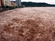 """4000余名群众被困""""江心岛"""" 遂宁紧急转移被困人员"""