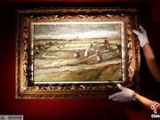 梵高油画将在巴黎拍卖 预计成交价约500万欧元(图)