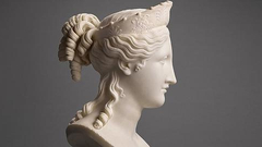 """意大利""""和平女神半身像""""200年来首次公开拍卖"""