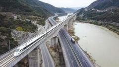 西成高铁全线模拟运行 4小时15分成都跑拢西安