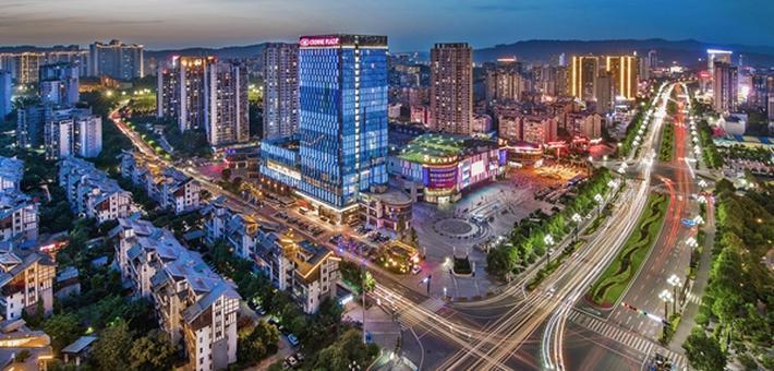 四川网友晒出自己心目中家乡的城市地标