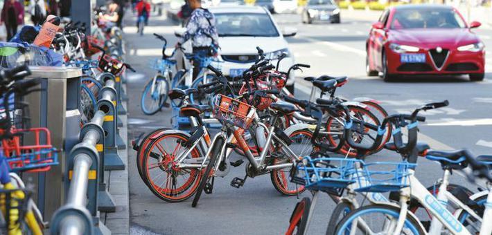 无处安放的共享单车