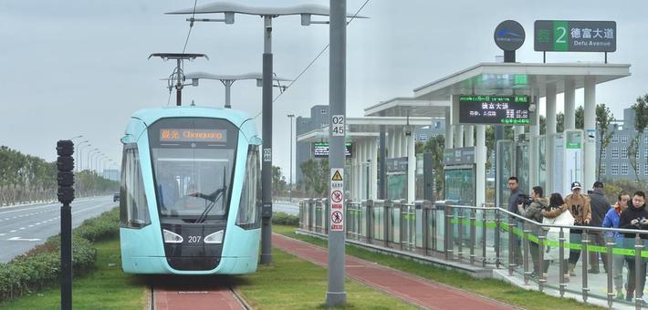 成都首条有轨电车线路本月正式开通