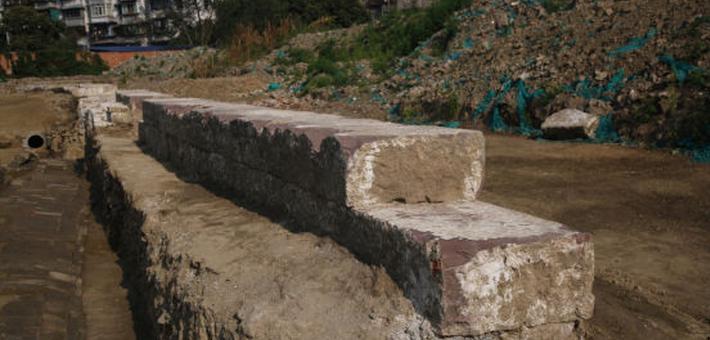 成都发现唐代城墙