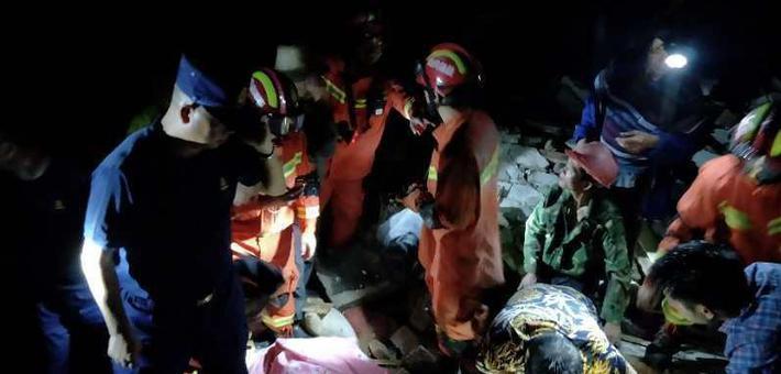 宜宾6.0级地震 直击现场救援情况