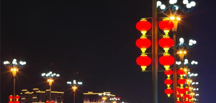 遂宁:大红灯笼高高挂 浓浓年味飘出来