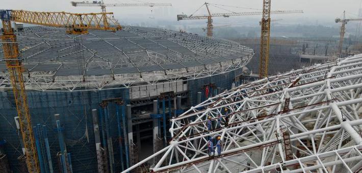 探访成都正在建设中的大运会体育场馆