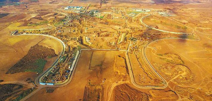 影像记录成都天府国际机场建设
