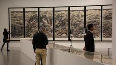 崔如琢上海办展:除了新作,还有其藏品《石涛罗汉百开册页》