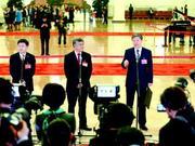 山东团代表在党代表通道:中国企业的成功,体现中国自信