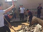 潍坊市抽调精干力量 选派70个包村工作组奔赴抗灾救灾第一线