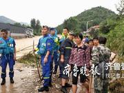 王坟镇转移1.4万人:密集宣传防汛 给特殊人员建台账