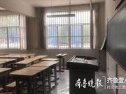 寿光灾区迎来开学季:教室已整修完毕 新课桌椅全到位