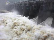山东黄河河务局开闸泄流确保东平湖安全 确保黄河防汛安全