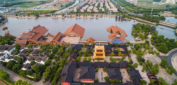 广富林文化遗址将开园 俯瞰美景