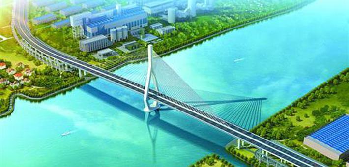 黄浦江上第13座大桥迎新进展