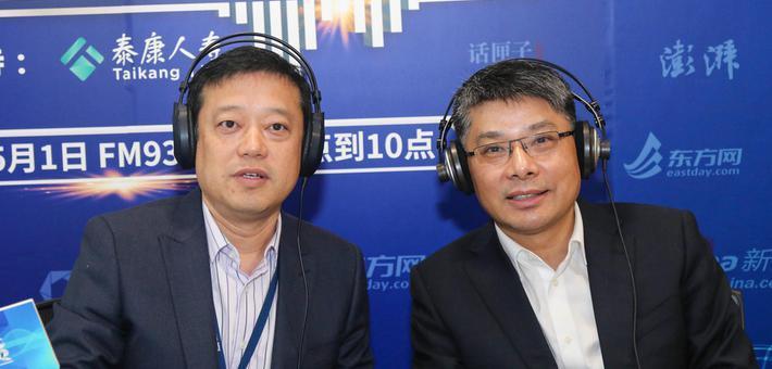 市房管局局长胡广杰做客上海民生访谈