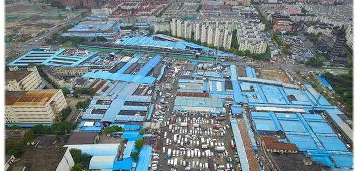 普陀多个知名市场原址重新规划