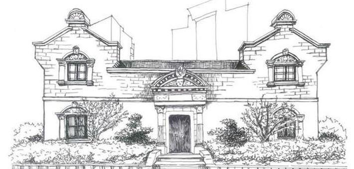 七旬女建筑师手绘上海石库门