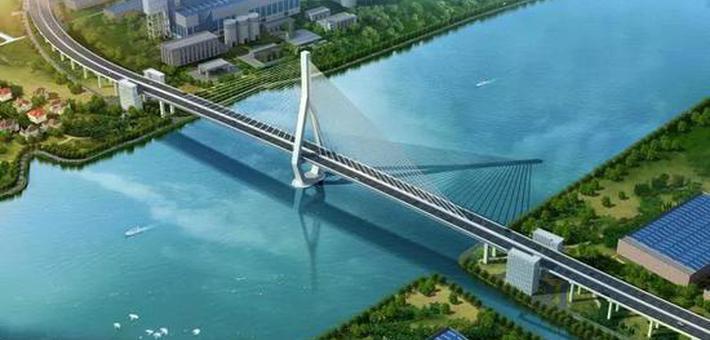 昆阳路大桥预计明年基本建成