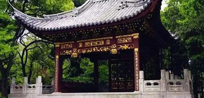 嘉定汇龙潭公园古建筑修缮即将完工