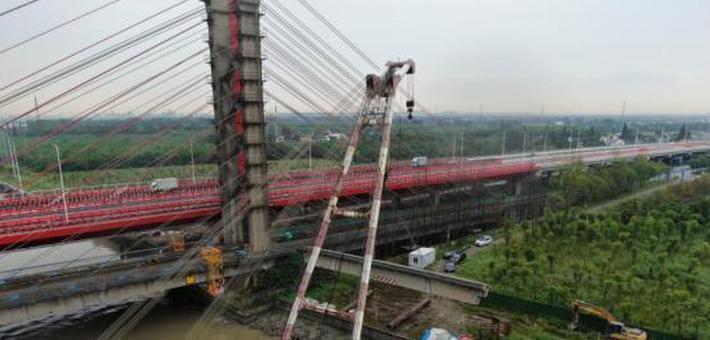 上海第一座大跨径斜拉桥启动拆除