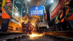 上海地铁13号线二、三期全线轨道贯通 年底试运营