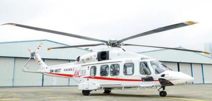 价值2亿元直升机已飞抵深圳