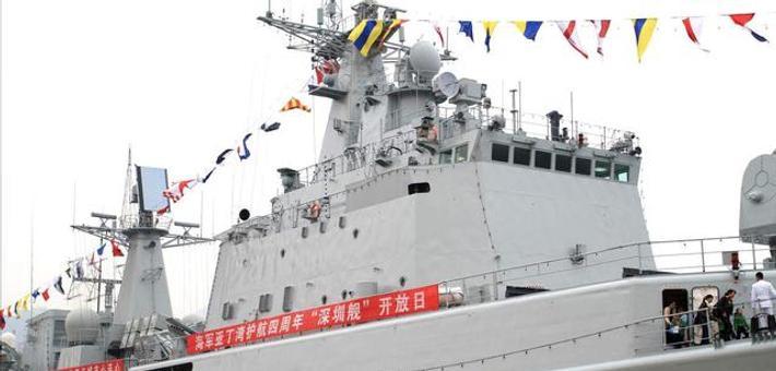 深圳舰圆满完成回访任务返航