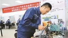 继电保护工(核电)职业技能竞赛在大亚湾核电公司举办