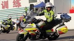 深圳摩托车技能大赛在深圳武警防恐训练基地顺利举行