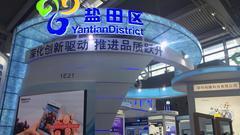 盐田区积极参展高交会 展馆巨轮设计吸引众人驻步