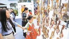 文博会公众开放日首日 市民乐享文化盛宴