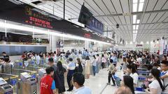 假期前两日深圳湾口岸迎送旅客超30万