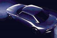 疑似标致504 Coupe预告图 或将亮相2018巴黎车展