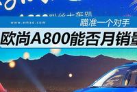 瞄准一个对手 欧尚A800能否月销两万?