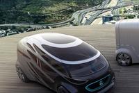 奔驰推乘用/货运两用自动驾驶概念车 2分钟变形频道推荐