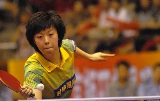 国乒史上第一美女白杨 19岁与马琳恋爱 惨被蔡振华杀鸡儆猴