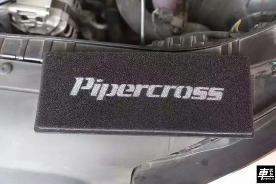 奥迪A4L第三代EA888升级英国Pipercross进气滤芯