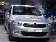 近年欧洲碰撞测试比较挫的车