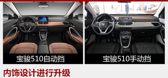 宝骏510自动挡车型正式上市 售6.88万起