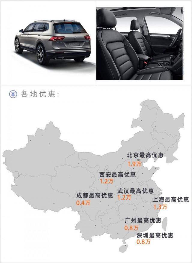 20万左右的欧美大空间SUV,最高优惠36000元!